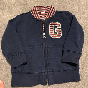 Gap boys zip up